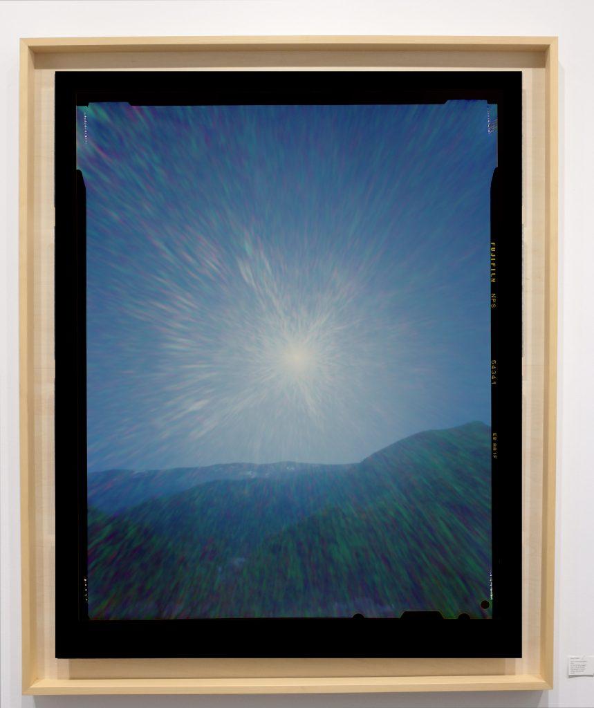 Héliographie #68 - Photographie couleur à développement chromogène - 150 cm x 100 cm - Edition 1/8