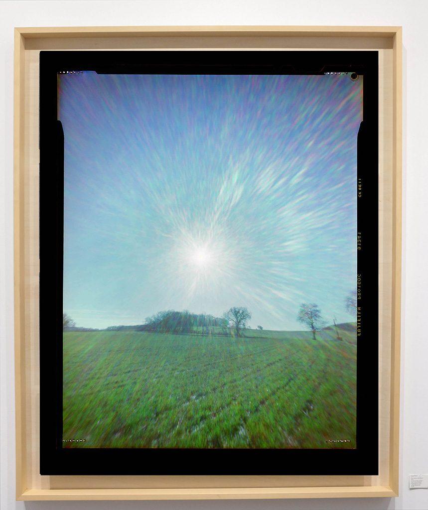 Héliographie #09 - Photographie chromogène - 150 cm x 100 cm - Edition 1/8