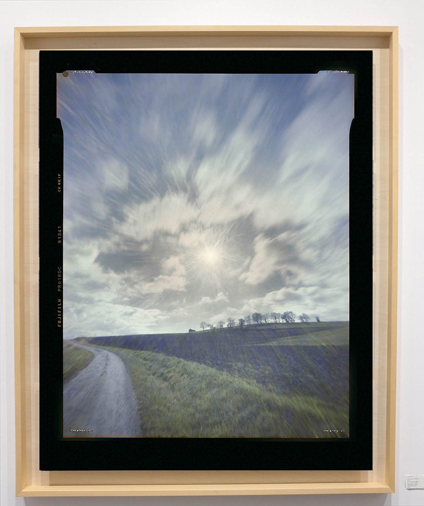 Héliographie #130 - Photographie chromogène - 150 cm x 100 cm - Edition 1/8