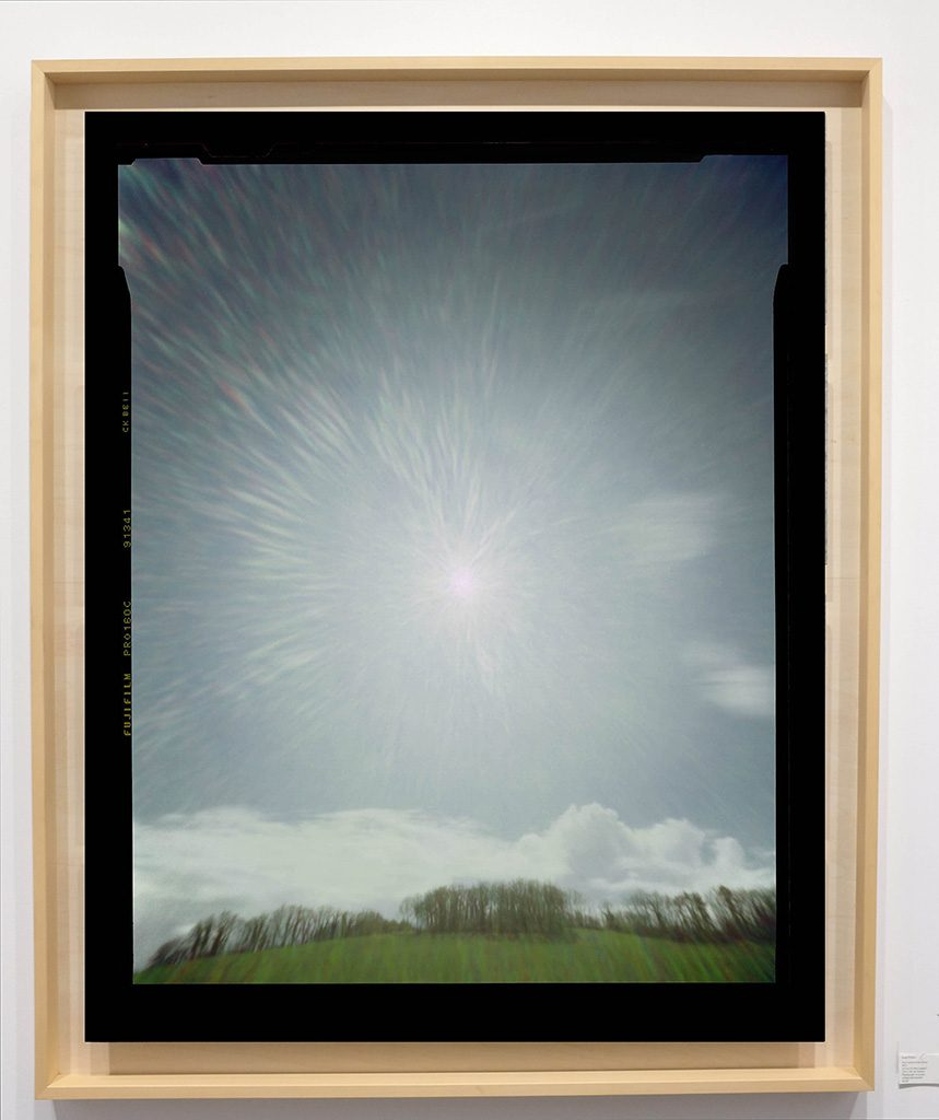 Héliographie #139 - Photographie chromogène - 150 cm x 100 cm - Edition 1/8