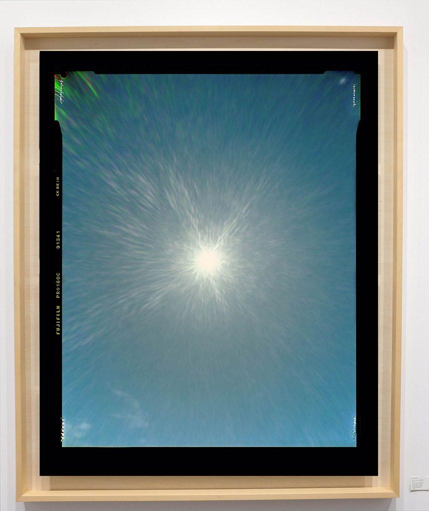Héliographie #17 - Photographie chromogène - 150 cm x 100 cm - Edition 1/8