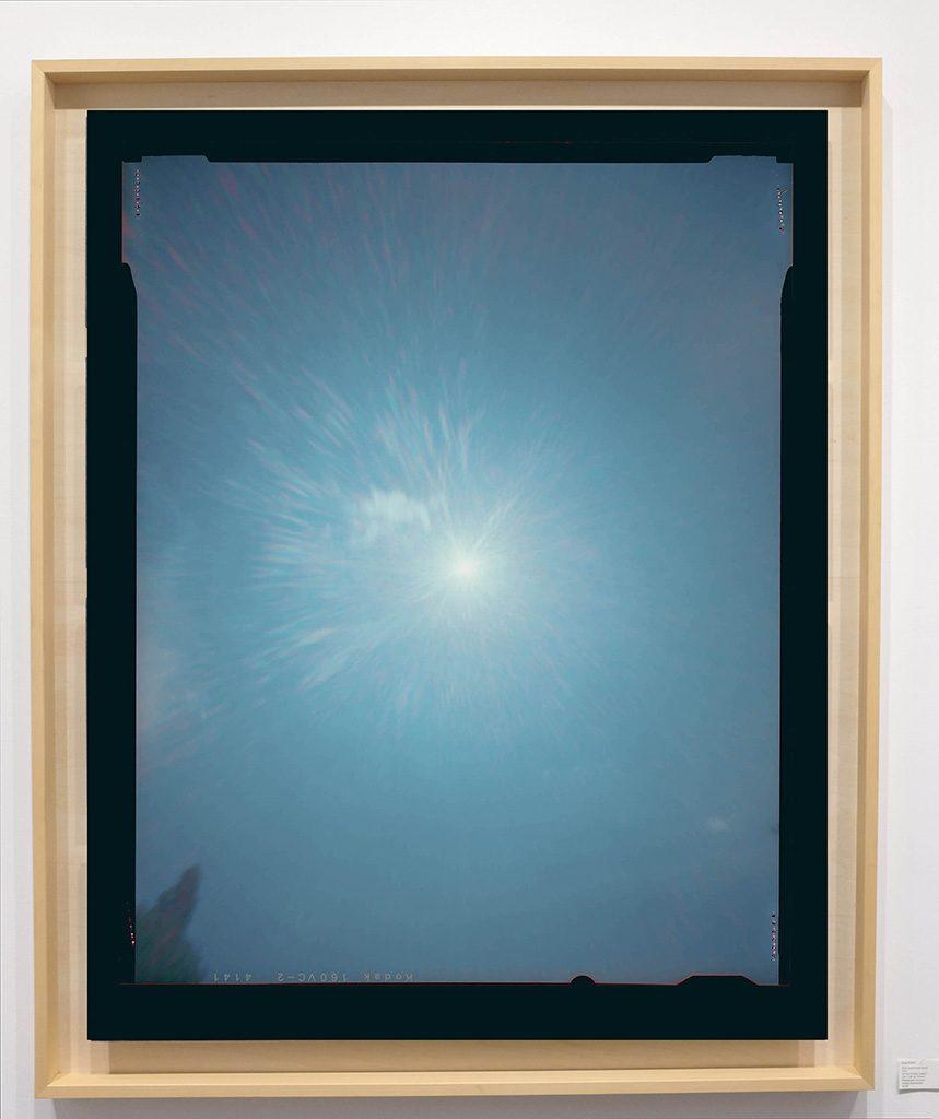 Héliographie #30 - Photographie chromogène - 150 cm x 100 cm - Edition 1/8