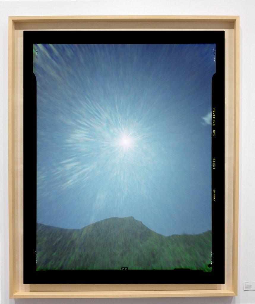 Héliographie #59 - Photographie chromogène - 150 cm x 100 cm - Edition 1/8