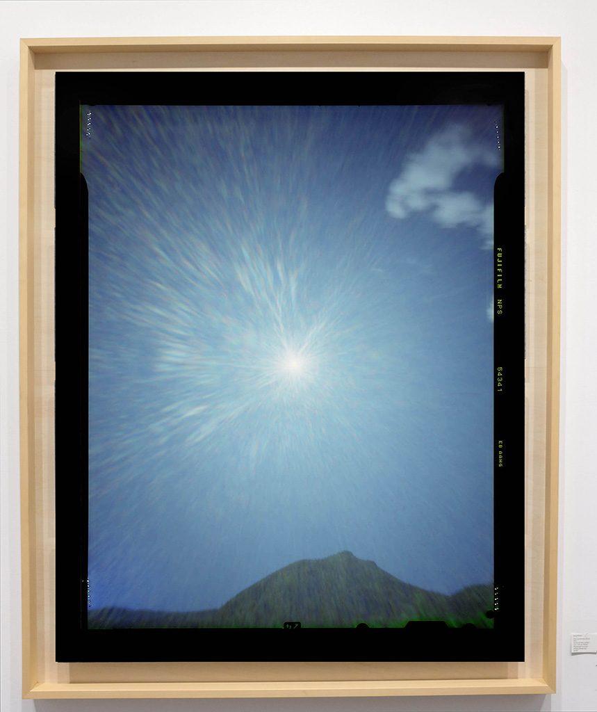 Héliographie #60 - Photographie chromogène - 150 cm x 100 cm - Edition 1/8
