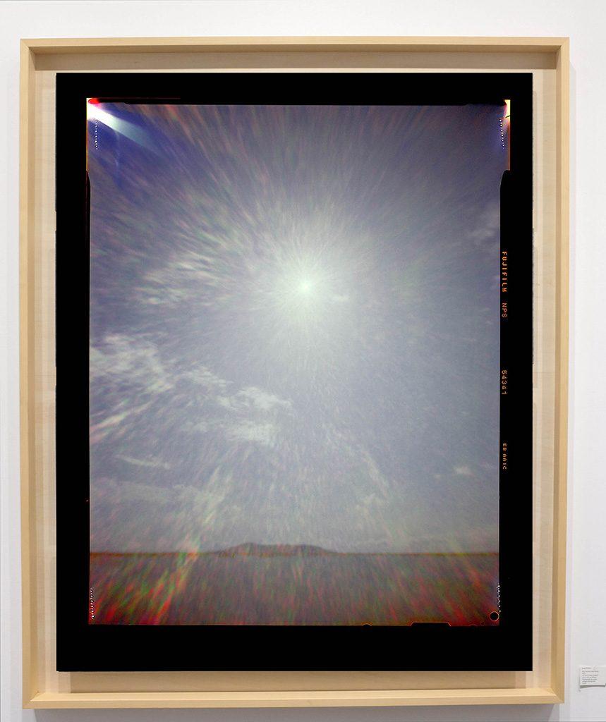 Héliographie #61 - Photographie chromogène - 150 cm x 100 cm - Edition 1/8