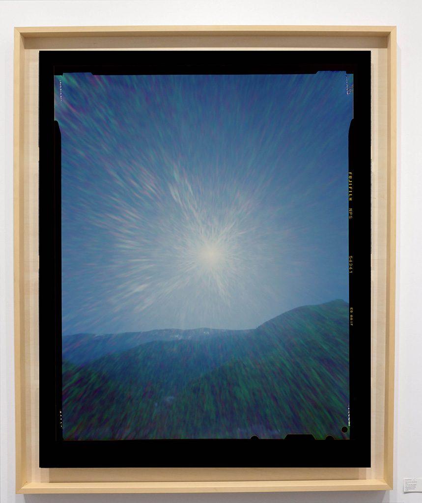 Héliographie #68 - Photographie chromogène - 150 cm x 100 cm - Edition 1/8
