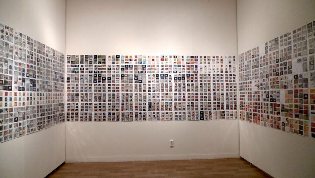 Séoul 2009 - 1911 photographies chromogènes 9cm x 13cm / vidéo 240 mn